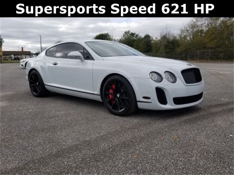 Pre-Owned 2010 Bentley Continental Supersports Speed AWD 2D Coupe